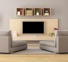 Painel de TV: melhor altura para enxergar, distância do sofá e mais